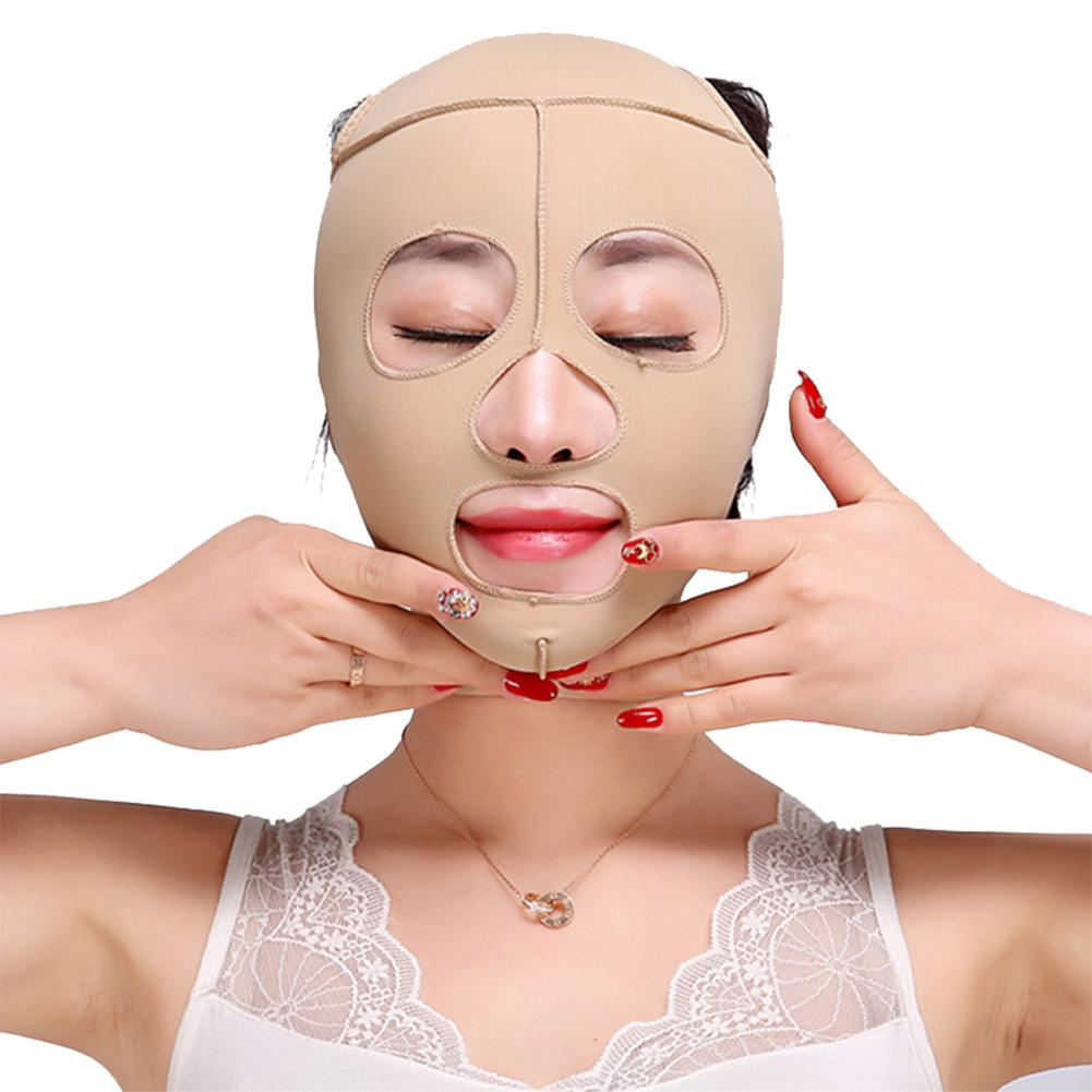 Face Lift Tools Thin Face Mask Slimming Facial Thin Masseter Delicate Skin Thin Face Bandage Belt Women Face Care Beauty Kit