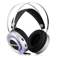 Excelvan E 3LUE H955 Gaming Speaker Headphones Advanced Marvelous Lighting Effect Wider Headband With Microphones For Game Fans