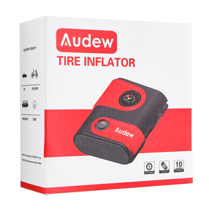 Image 5 - Car Air Compressor Inflatable Pump 12V DC 100PSI Outlet Compact Portable Auto Tire Pump Inflator for Car Bicycles Motorcycles