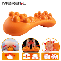Stretch Back Massager Magic Stretcher Fitness Lumbar Support Relax Spinal Pain Relieve Body Kneading Shiatsu Massage Cushion Pad