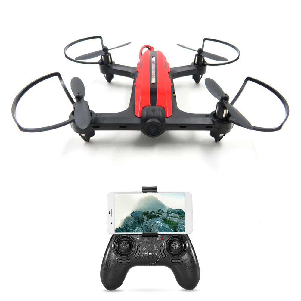 JMT T18 Wifi FPV Quadcopter With 720P Wide Angle HD Camera Mini RC Racing Drone RTF