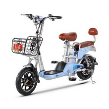 310424/New vacuum tire 12A lithium battery electric bicycle 48V adult car/Safe cushion Spring shock/USB charging port