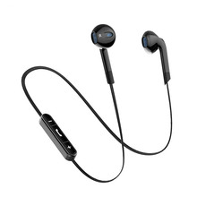Portable Bl6 Bluetooth Earphones Auriculares Bluetooth Headset Wireless Headphones For Phone Half In-ear Bluetooth Earphone цена в Москве и Питере