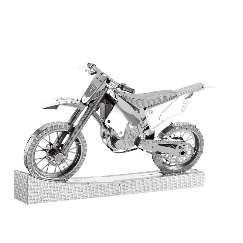 Motorcycle 3D Metal Puzzles Off-Road Car Bike Nano Kits Laser Cut Assemble Silver Jigsaw Adult Gifts Toys Figurines Home DecorMotorcycle 3D Metal Puzzles Off-Road Car Bike Nano Kits Laser Cut Assemble Silver Jigsaw Adult Gifts Toys Figurines Home Decor