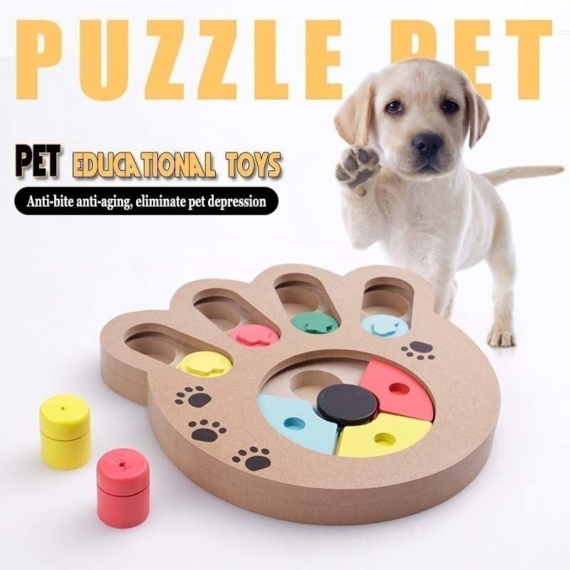 KIMHOME PET créatif interactif chien jouets pour petits chiens Puzzle alimentation jouets grand jouet moudre les dents chien mâcher jouet morsure résistant