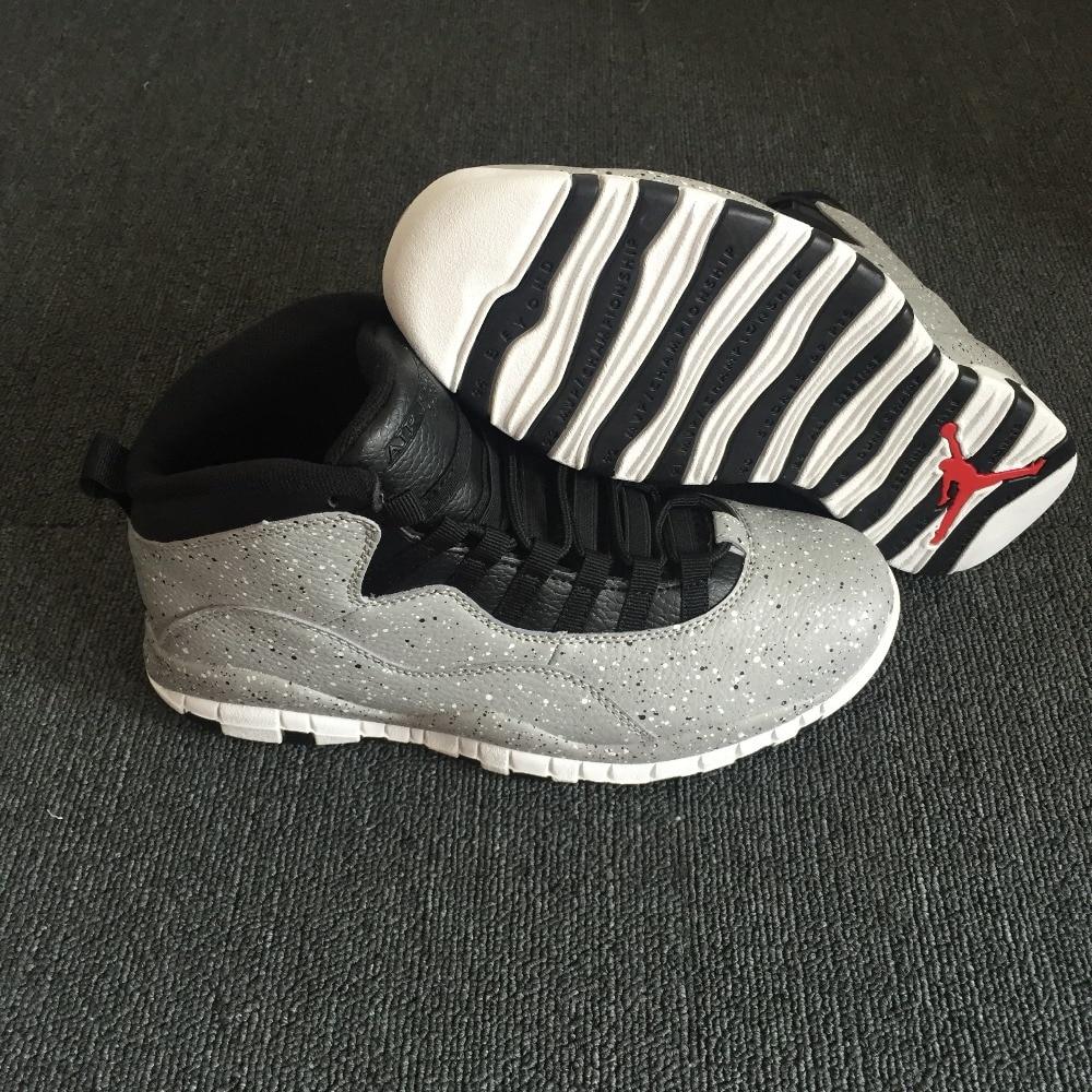 Jordan Air Retro 10 X Man Basketball Shoes venom POWDER BLUE stealth steel Outdoor Sneakers Sport Sneaker 41-46