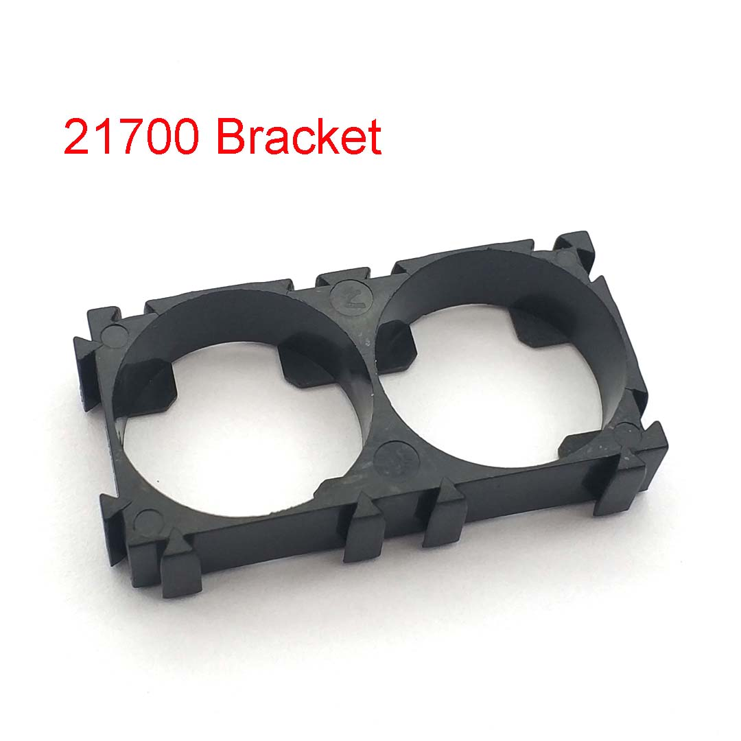 21700 2x Battery Holder Bracket Cell Safety Anti Vibration Plastic Brackets For 21700 Batteries