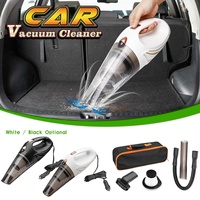 12V Car Vacuum Cleaner 3000pa Wet/Dry Portable Handheld Vacuums Cleaner Dust Cleaning with Handbag