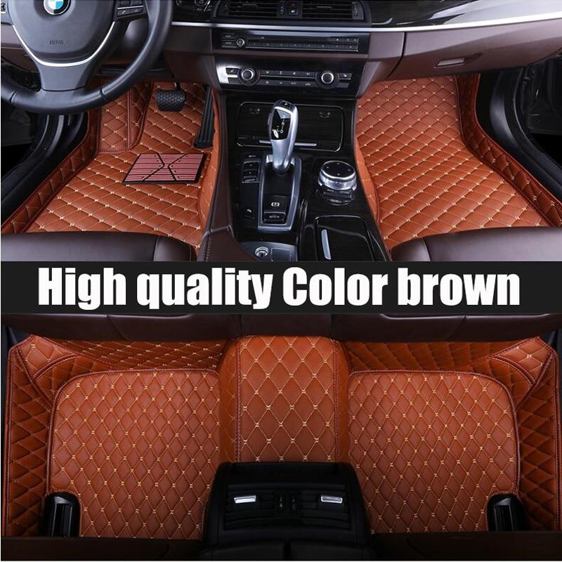ZHAOYANHUA Custom car floor mats for chevrolet trax lacetti malibu equinox sail aveo t300 tyling carpet floor