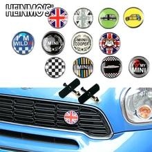 Для MINI Cooper S One автомобильный Стайлинг передняя решетка наклейка Аксессуары для MINI Countryman R50 R53 R55 R56 R60 R61 F54 F55 F56 F60