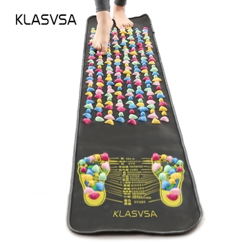 KLASVSA Leg Foot Massage Pad Pain Relief Stone Massager Mat Walk Muscle Stimulator Health Mattress Home Relaxation Health Care