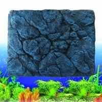 Large 3D Aquarium Fish Tank Background Stone Rock Board Plate Backdrop Wall Decoration Reptiles Aquatic Pet Supplies 60x45cm