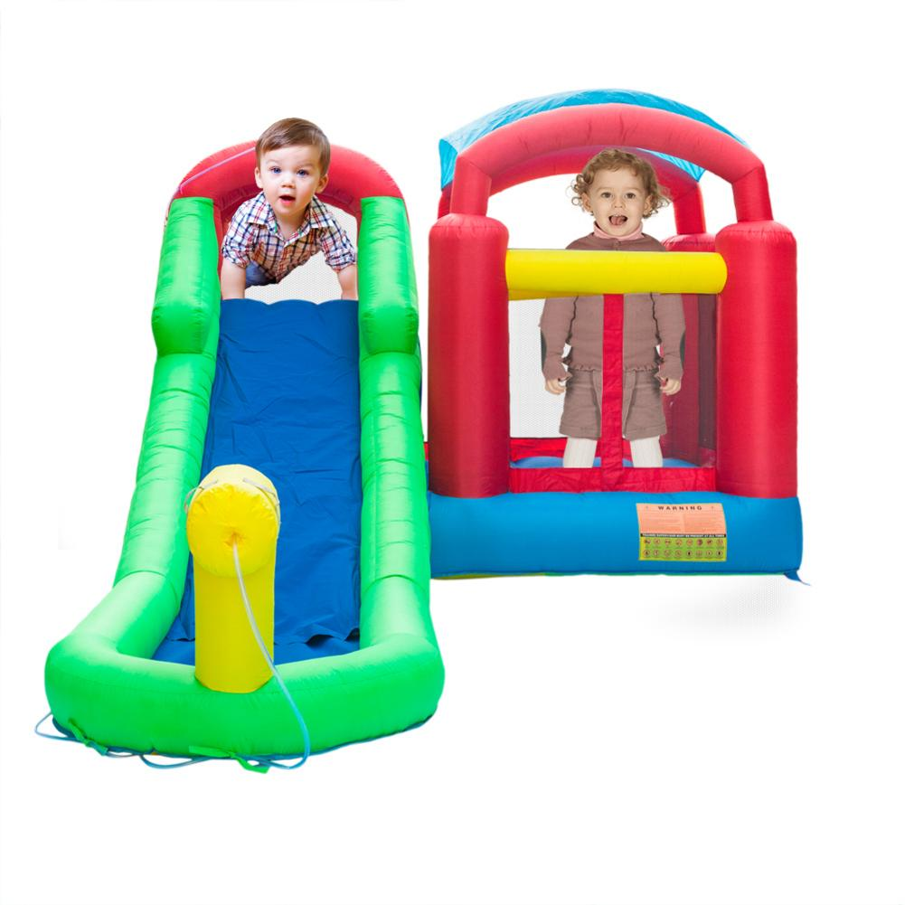 Family Use Inflatable Bouncy Castle Combo Water Slide Pool Inflatable Bouncer For Kids Jumping Castle With Air Blower Free ShipFamily Use Inflatable Bouncy Castle Combo Water Slide Pool Inflatable Bouncer For Kids Jumping Castle With Air Blower Free Ship