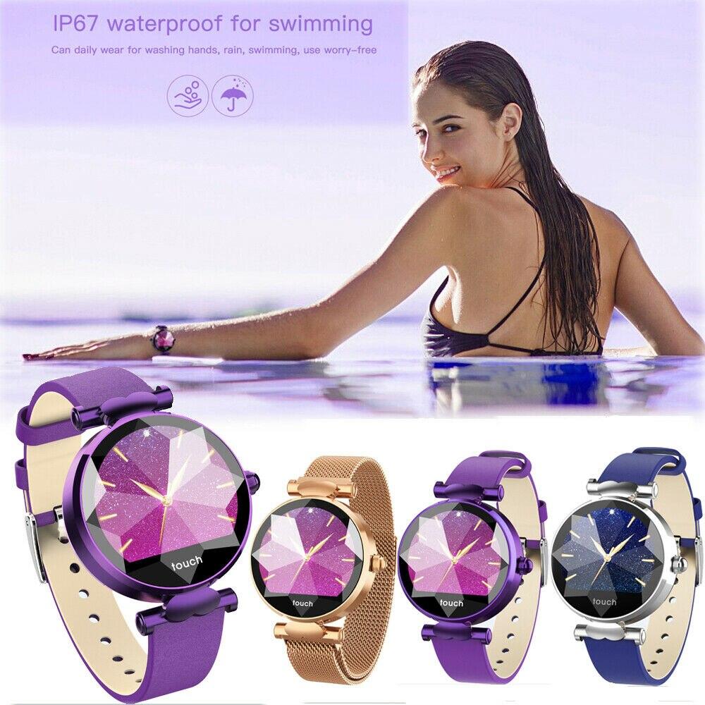 B80 умный фитнес браслет с Bluetooth женский водонепроницаемый браслет пульсометр кровяное давление фитнес трекер подарок на день рождения