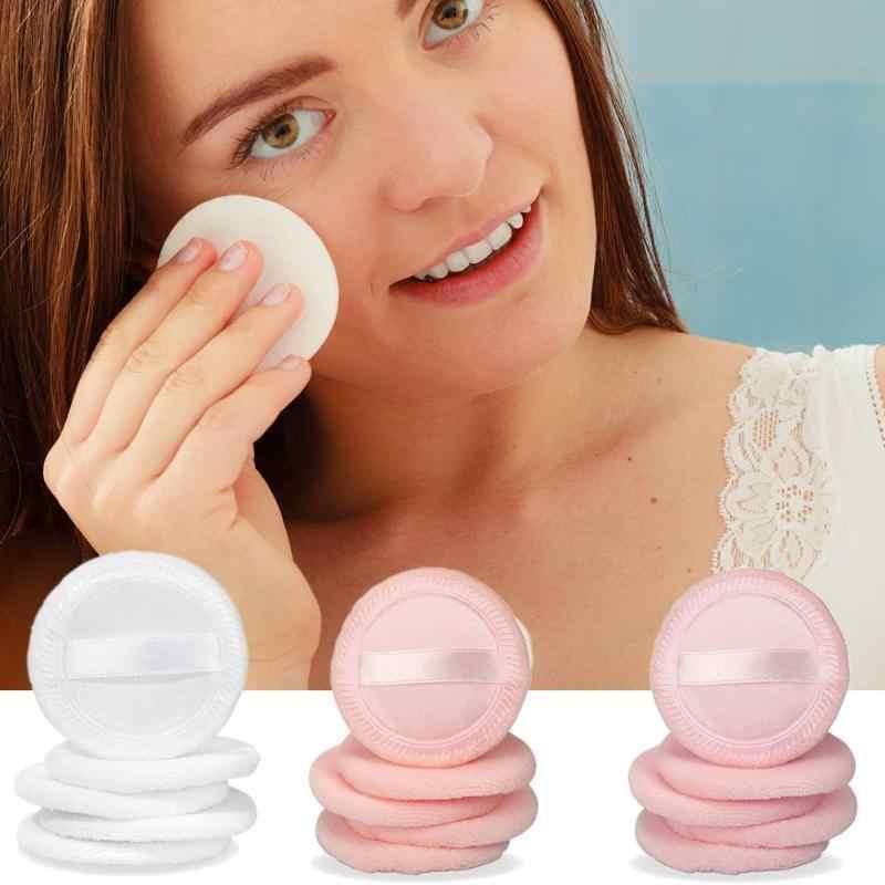 5 piezas de la cara y el cuerpo soplo de polvo cosmético belleza base de maquillaje esponja suave Super suave limpieza esponja cosmética Puff
