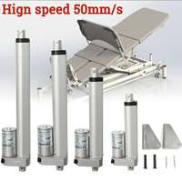 Linear actuator 12V 100N 50mm/s stroke linear actuator motor 50mm / 100mm / 150mm / 200mm / 300mm /350mm