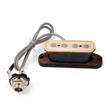 4 String Cigar Box  Guitar Pickup with Input Jack Wood Bobbin 5K Resistance Single Coil Accessories