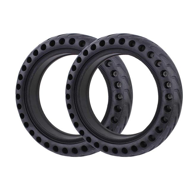 Neumáticos huecos para patinete eléctrico Xiaomi Mijia M365 Pro, amortiguador de goma