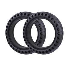 Pneu creux pour Xiaomi Mijia M365 Scooter électrique pneu solide amortisseur pneus avant arrière Xiaomi M365 Pro roue pneus en caoutchouc