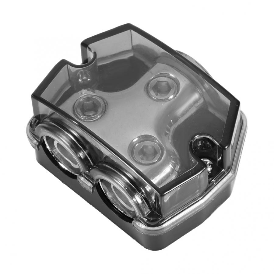Repalcement 10 Way Car Audio Distribution Block Two 0 GA to 8GA In//Out