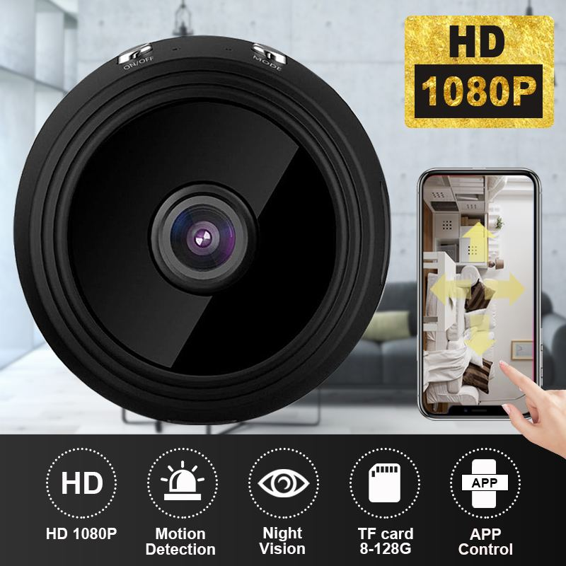 Wifi Home Security IP Camera 1080P HD Wireless Mini CCTV Camera Night Vision Video Surveillance Cam APP Control For Baby MonitorWifi Home Security IP Camera 1080P HD Wireless Mini CCTV Camera Night Vision Video Surveillance Cam APP Control For Baby Monitor