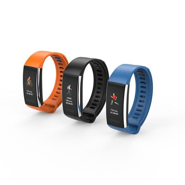 HI15 Wristband Smart Bracelet Heart Rate Monitor Blood Pressure Blood Oxygen Calorie Sleep Monitoring