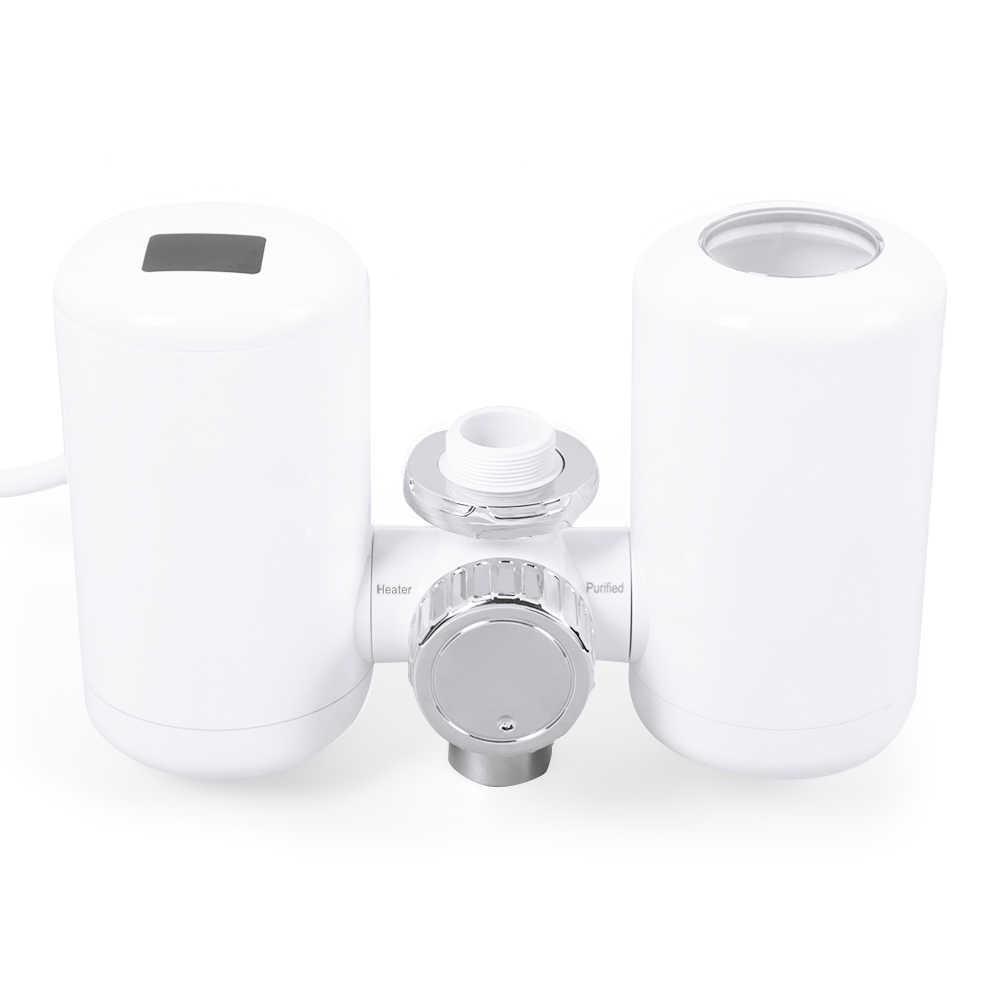 3000 ワット電気温水器の蛇口インテリジェントデジタルディスプレイ三水モード水蛇口キッチンバスルーム 220 220V EU プラグ