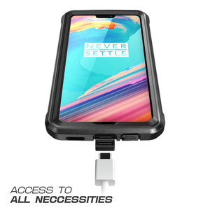Image 5 - Case For OnePlus 6 SUPCASE UB Pro Full Body Rugged Holster Protective Cover with Built in Screen Protector For One Plus 6 Case