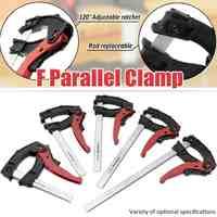 90x 100/160/200/250/300mm Einstellbare Schnelle Grip Schellen Holz Metall Clamp Bar Schwere F Clamp DIY Hand Hardware-Tool