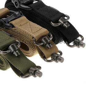 Image 2 - Tactical Hunting Gun Sling Adjustable 1 Single Point Bungee Rifle Sling Strap System New 3 Colors