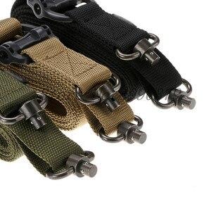 Image 2 - Taktische Jagd Gun Sling Einstellbare 1 Single Point Bungee Gewehr Sling Strap System Neue 3 Farben