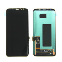 Amoled LCD For SAMSUNG Galaxy S8 LCD Screen Replacement Touch Digitizer Assembly G950F G950U G950W LCD Display Touch