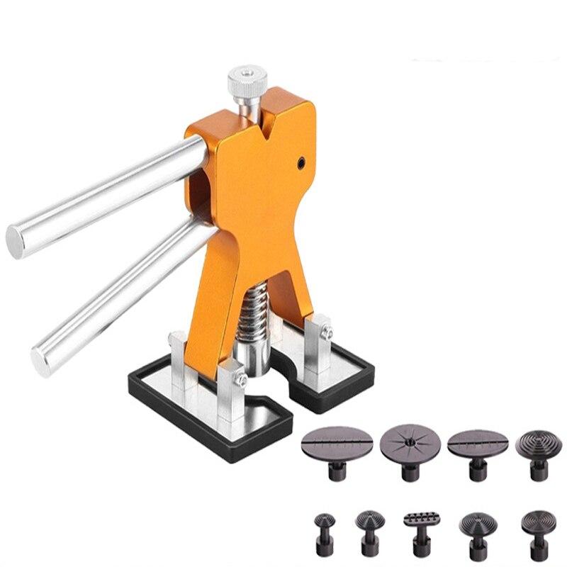 9pcs Auto body paintless indentation repair tool drawbench free sheet metal drawbench repair tool indentation