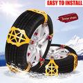 Противоскользящие цепи для автомобильных шин  утолщенные цепи для колес из говядины для снежной грязи