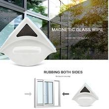 Бытовая двухсторонняя Магнитная Щетка для протирания стекла, щетка для мытья окон, щетка для чистки стекла