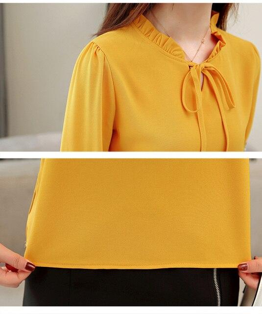 c78927e4c2 plus size women tops floral embroidery chiffon blouse shirt fashion womens  tops and blouses 2019 long sleeve women shirt 1645 50