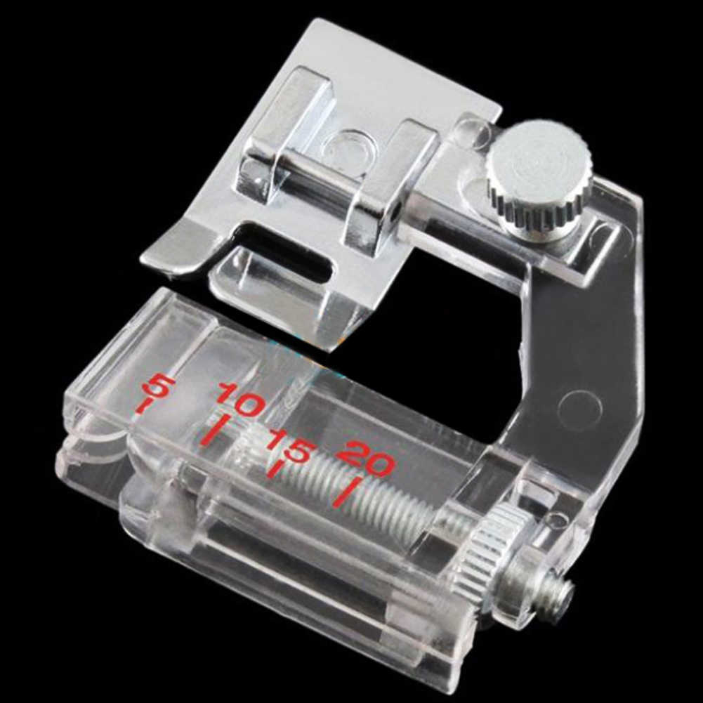 Binder Foot Adjustable Bias Binder Presser Foot Feet for Sewing Machines