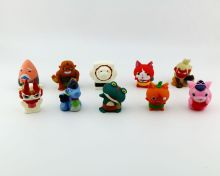 10-200pcs 5cm yo kai watch toy Japanese youkai watch anime reloj yo-kai watch rubber doll Action Figure Collection toys for kids anime play arts kai street fighter iv 4 vol 2 gouki pvc action figure collection model kids toy doll