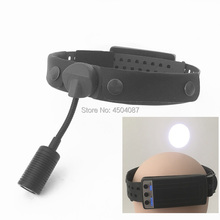 Medical Headlight 9W LED Headlamp Dental Surgical with 2 Rechargeable Battery Adjustable Brightness