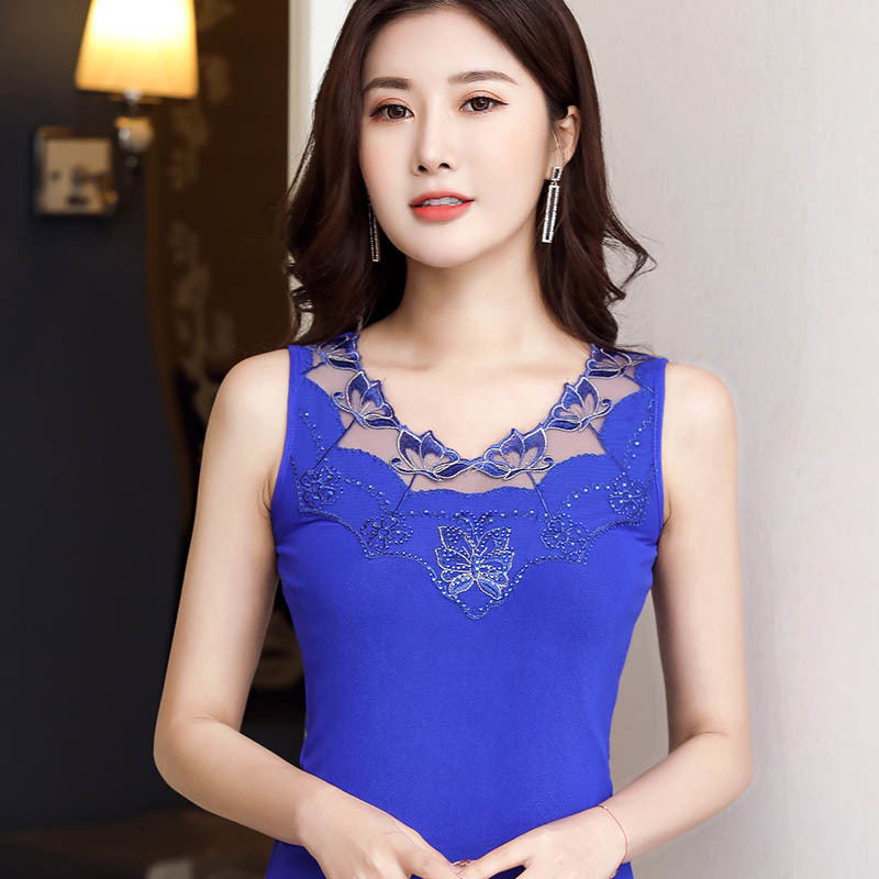 Women Summer Sleeveless Shirt Tassel Ruffle Casual Tank Top Vest Cami Tee Plus B