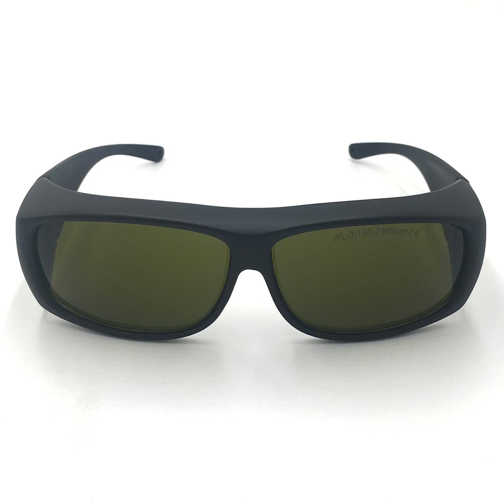 EP-IPL-3-9 IPL 800nm-808nm-980nm-1064nm-2000nm OD4+ IR Laser Protective Goggles Glasses ep 8 9 190nm 470nm uv 800nm 808nm 1700nm od5 ir laser protective goggles glasses