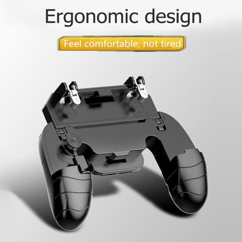 Video Games Consumer Electronics 2019 Bluetooth Gamepad For Pubg Stg Fps Game Trigger Fire Button Cell Phone Mobile Controller Ios Bluetooch Gamepad For Iphones