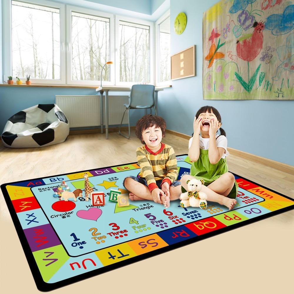 Soft Floor Kids Rug Toys for Children Crawling Gym Children's Carpet Baby Play Mat Unicorn Game Thick Soft Carpet Cartoon