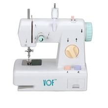 VOF FHSM-208 маленькая швейная машина с одной иглой, работающая от батареи, мини домашнее Швейное Оборудование, машина для детей