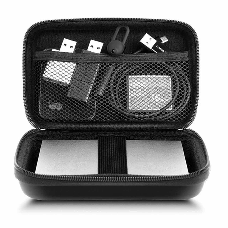 Orico 2.5 Inch HDD Case Melindungi Casing Kotak untuk Seagate Samsung WD Hard Drive Power Bank Charger Kabel Usb Eksternal hard Disk Kantong
