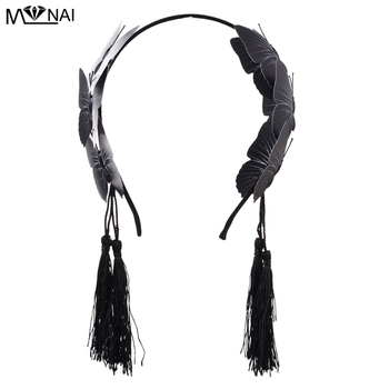 Gothic Butterflies Hairband with Tassels Fashion Steampunk Headband Accessories For Party Festival Headdress Accessories 1