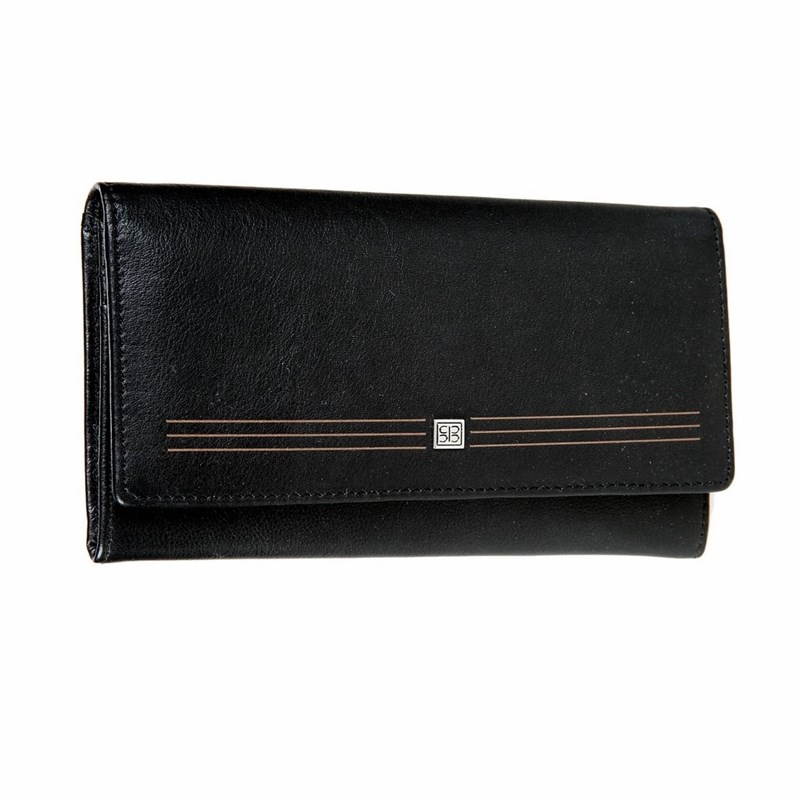 Wallets SergioBelotti 1075 west black цена 2017
