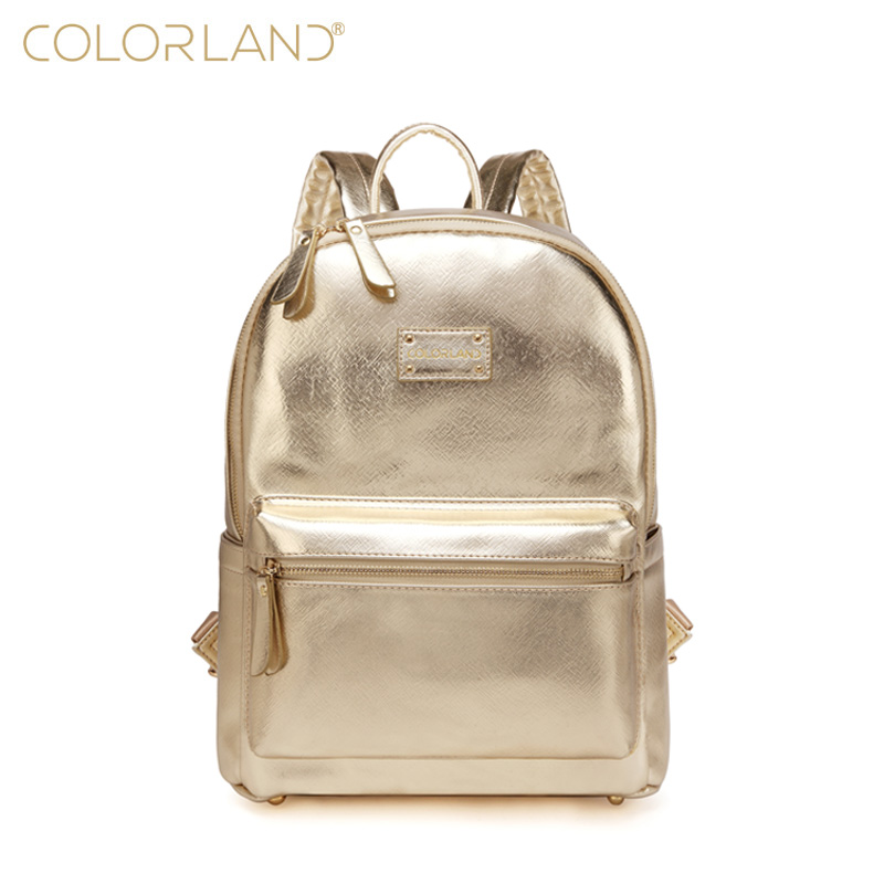 COLORLAND PU Baby Diaper Bag Backpack Mom Stroller Nappy Changing Mommy Maternity Organizer Wet Bags Care Thermal InsulationCOLORLAND PU Baby Diaper Bag Backpack Mom Stroller Nappy Changing Mommy Maternity Organizer Wet Bags Care Thermal Insulation