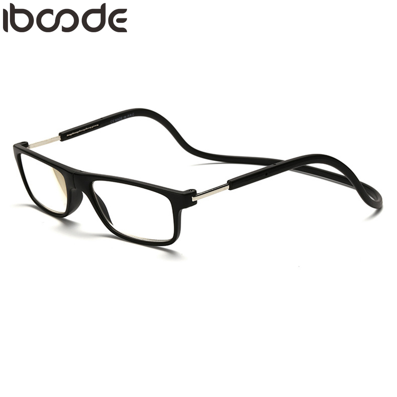 Herren-brillen Gewissenhaft Iboode Magnetische Lesebrille Männer Frauen Halter Neck Presbyopie Brillen Einstellbare Gafas Oculos 1,0 1,5 2,0 2,5 3,0 3,5 4,0 Quell Sommer Durst