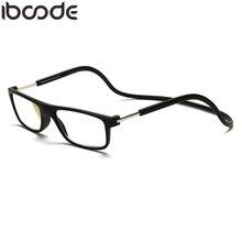0861dc8a0 Iboode Magnética Óculos de Leitura Presbiopia Óculos de Homens Mulheres  Halter Pescoço Ajustável Gafas Oculos + 1.0 1.5 2.0 2.5 .